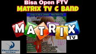Cara Open Chanel Premium Matrix Tv C Band di Satelit Palapa D MP3