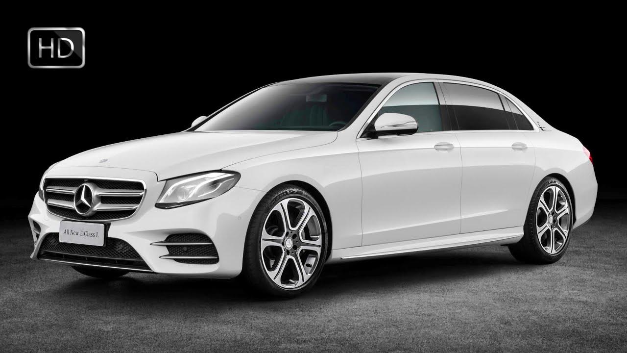 2017 Mercedes Benz E320 4matic L Sport Sedan Design Test Drive Hd
