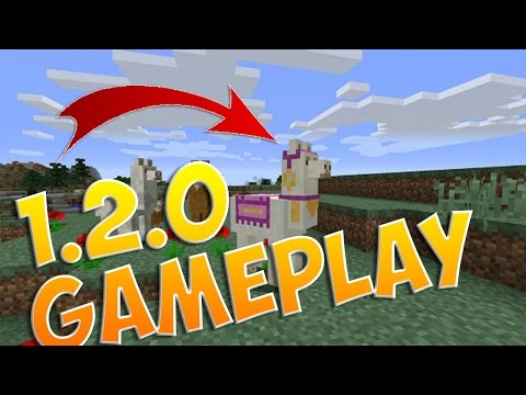 Minecraft Pocket Edition 1.2.0 TRAILER!!! - Adventure Mode, MORE OPTIONS, & MORE!   MCPE Concept