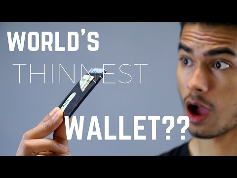 4 Best Slim Wallet Options for Men!