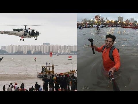 Ganpati Visarjan 2019 Mumbai | Girgaon Chowpatty | Pramod Rawat