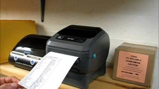 Zebra ZP-450 Label Printer for eBay Sellers!