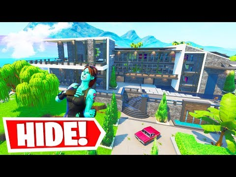 BEST Fornite Season 10 Hide And Seek Map EVER MADE