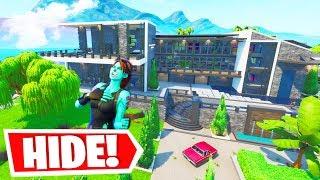 BEST Fortnite HIDE & SEEK Code EVER MADE in Fortnite Creative