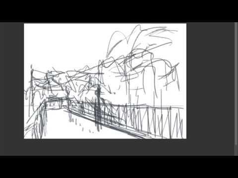 「歩道橋」作業1