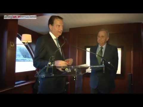 Leopoldo Cólogan ya es oficialmente un Caballero francés