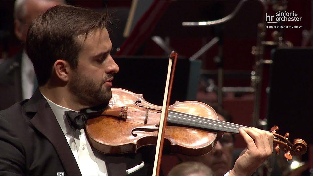 Korngold: Violinkonzert ∙ hr-Sinfonieorchester ∙ William Hagen ∙ Christoph Eschenbach