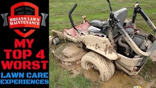 my top 4 worst lawn care experiences