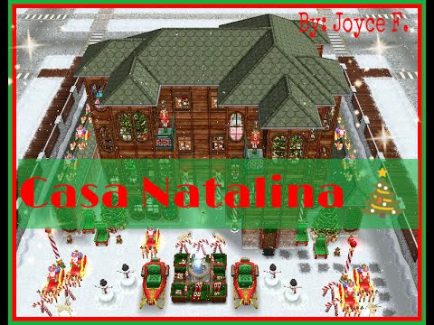 Casa natalina the sims freeplay youtube for Casa de diseno sims freeplay