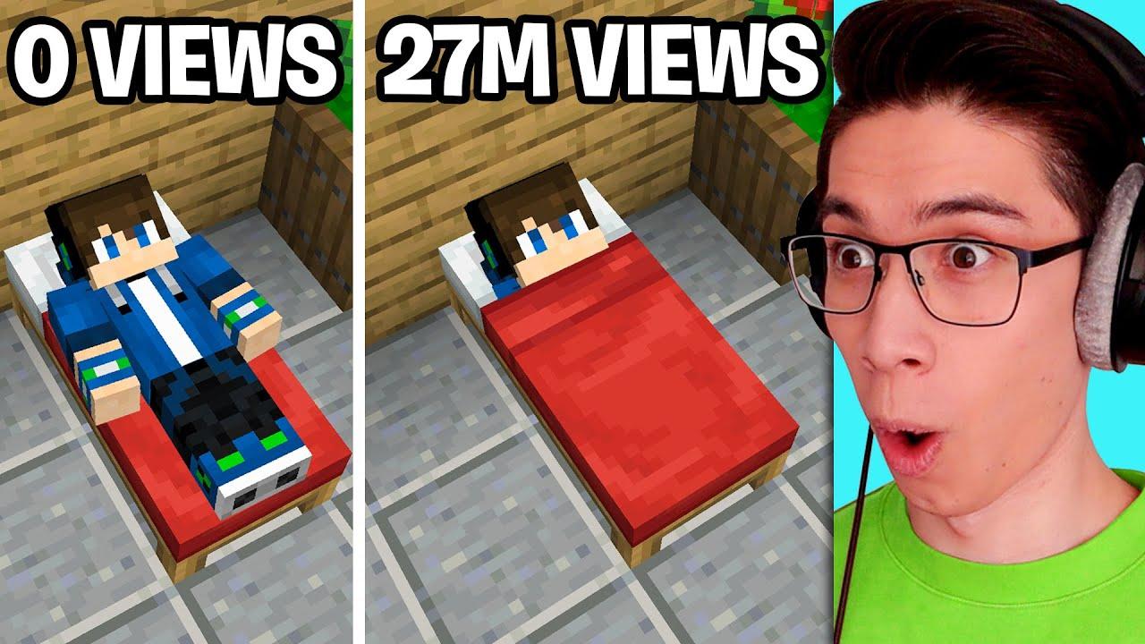 Making TikTok Minecraft Hacks Go Viral