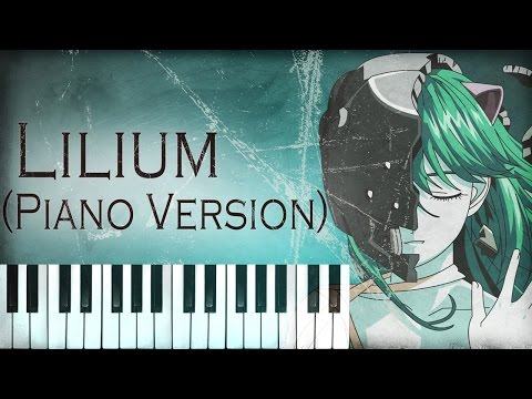 Elfen Lied  Lilium Piano Version エルフェンリート