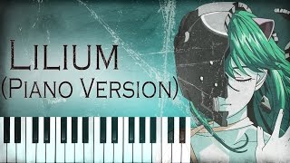 Elfen Lied - Lilium (Piano Version)