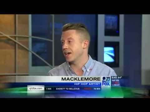 Rapper Macklemore discusses gay marriage and his new song Same Love