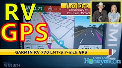 Garmin 770 RV GPS... IN THE REAL WORLD