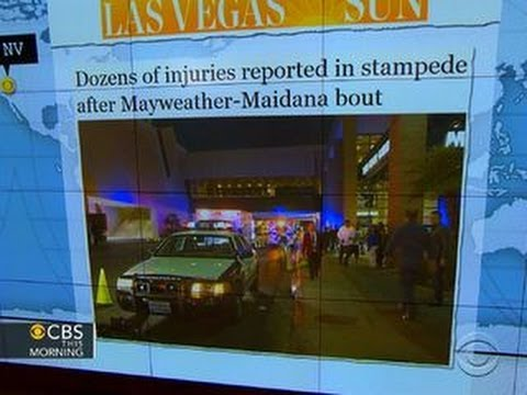 Headlines: Dozens injured in stampede at Las Vegas MGM Grand Hotel