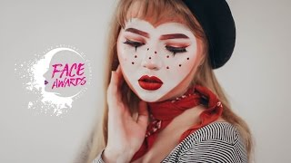 NYX FACE AWARDS UKRAINE 2017 ♥ Mime in Love ♥
