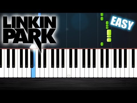 Linkin Park - CASTLE OF GLASS - EASY Piano Tutorial by PlutaX - Synthesia