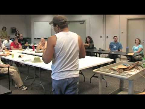 Changing Climate, Changing Culture...Making An Ojibwe Birch Bark Winnowing Basket