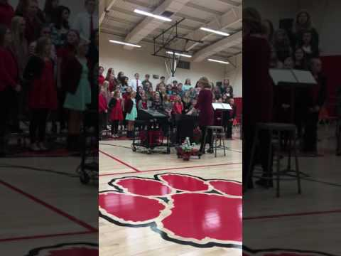 Franklin Park Middle School Christmas Concert part 1