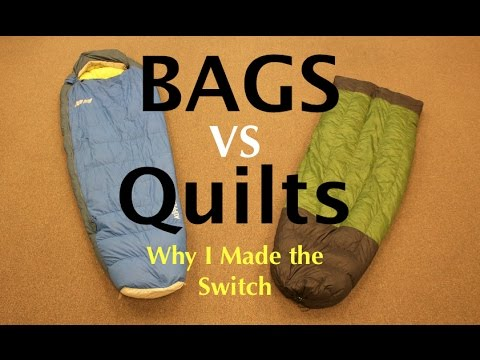 Sleeping Bags VS Quilts