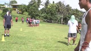 NFL Player Paul Soliai Visits Avele College Samoa 2015