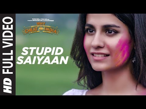 Full Video:  STUPID SAIYAAN  | WHY CHEAT INDIA | Emraan Hashmi |  Shreya Dhanwanthary | T-Series