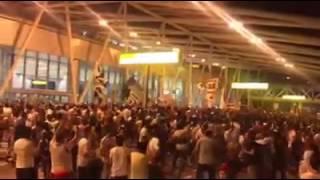 الصحفي أيمن مصطفي الزوي:استقبال وايت نايتس الزمالك لفريق كرة اليد بطل افريقيا 2