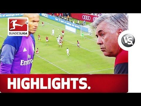 Ancelotti vs. Zidane - Bayern vs. Real Madrid in New Jersey