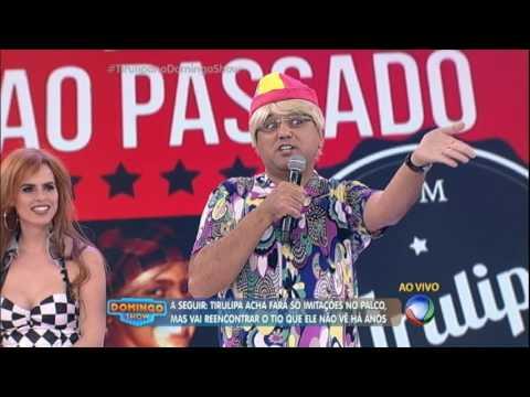 Geraldo Luís se veste de Tiririca