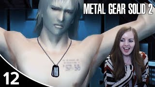 NAKED RAIDEN! | Metal Gear Solid 2: Sons Of Liberty HD Gameplay Walkthrough Part 12 - Xbox One