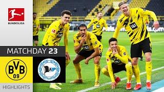 Borussia Dortmund - Arminia Bielefeld | 3-0 | Highlights | Matchday 23 – Bundesliga 2020/21