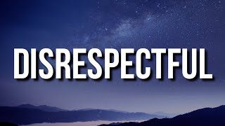 Blueface - Disrespectful (Lyrics)