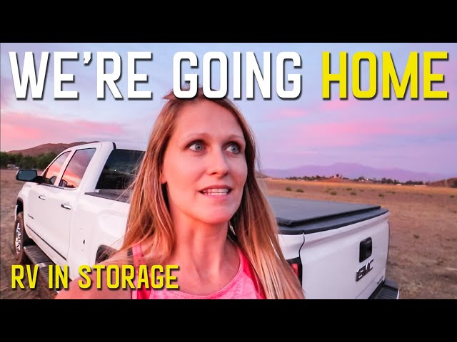 CALIFORNIA ON FIRE   FLYING BACK TO MAINE   STORING YOUR RV S4    Ep63