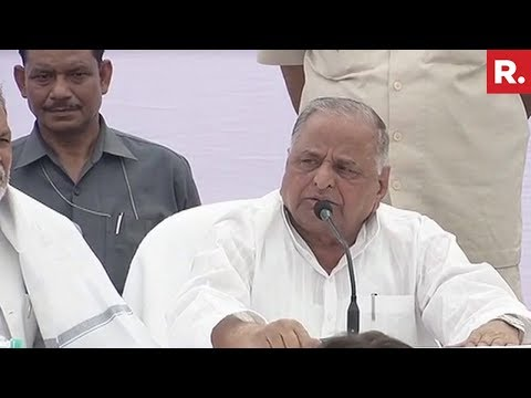 Mulayam Singh Yadav Dismisses Plans Of Opening New Party - F