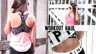 Workout/Gym Haul ft. Pink Soda Sport, Adidas, GetTheLabel and More! | CopperGardenx
