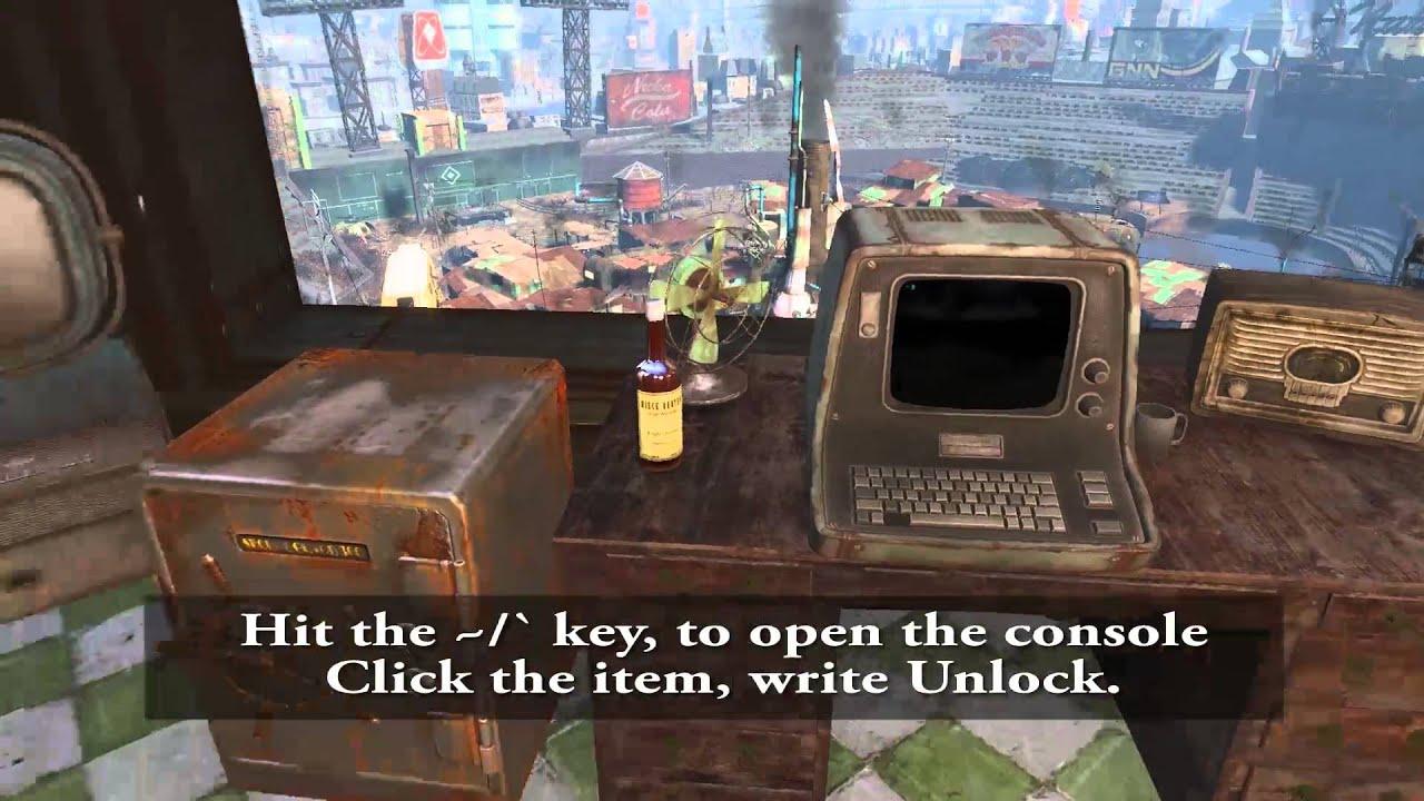 fallout keyboard commands
