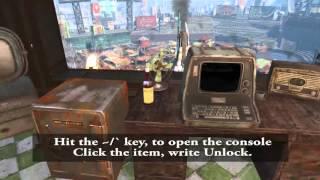 Fallout 4 Unlock all Doors, Safes, Terminals [Command]