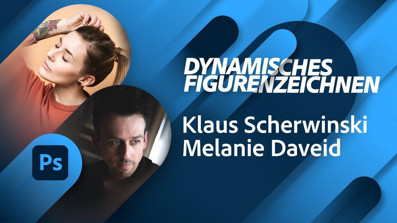 Dynamisches Figurenzeichnen mit Klaus Scherwinski  Adobe Live