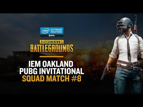 Game #8 - IEM Oakland PUBG Invitational - FR