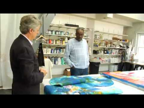 Sam Gilliam Interview (Artist Toolbox) - BEHIND THE SCENES