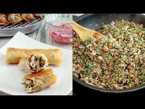 How To Make Lumpiang Galunggong