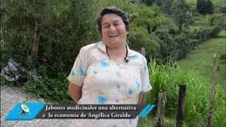 Jabones medicinales, una alternativa a la economía de doña Angélica Giraldo