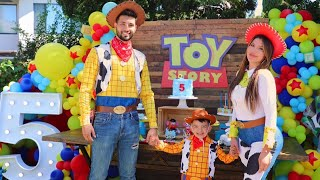 ELLIOTT'S TOY STORY BIRTHDAY