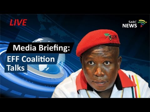 EFF media briefing on coalition talks, 17 August 2016