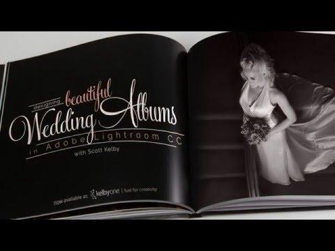 Designing Beautiful Wedding Albums in Lightroom Trailer