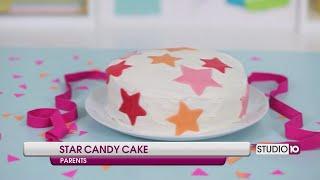 DIY Star Candy Birthday Cake