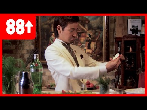Making a Gin Apple & Fennel Cocktail | Japan's Greatest Bartender - Hiroyasu Kayama