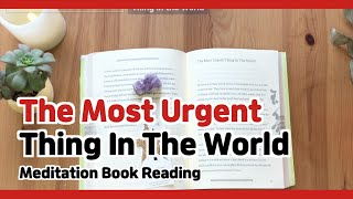 'The Most Urgent Thing In The World' From The Way To Become a Person In Heaven While Living