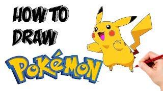 How to Draw Pikachu | Pokemon | #Cartooning 4 Kids