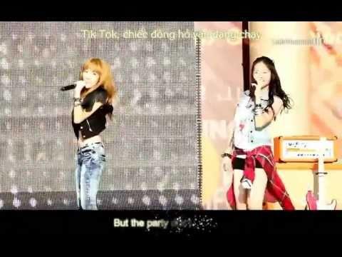 [Vietsub + Kara] Tik Tok - Jessica SNSD & Krystal F(x) (SM Town Concert Seoul)
